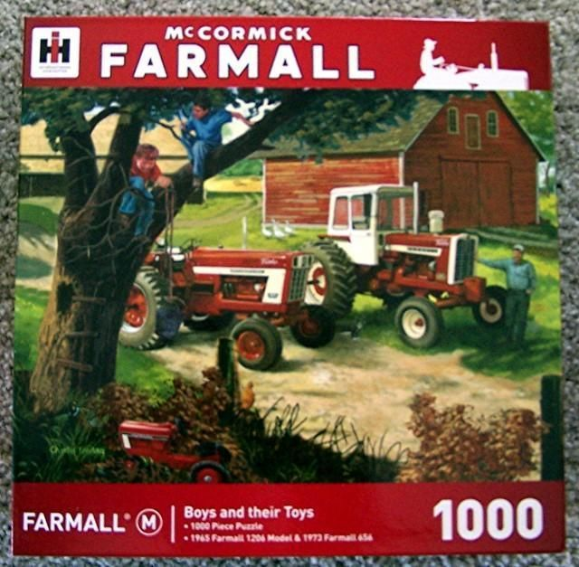 Ih Mccormick Farmall Boys And Their Toys 1000 Pc Jigsaw Puzzle