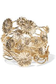 Athina gold-plated cuff