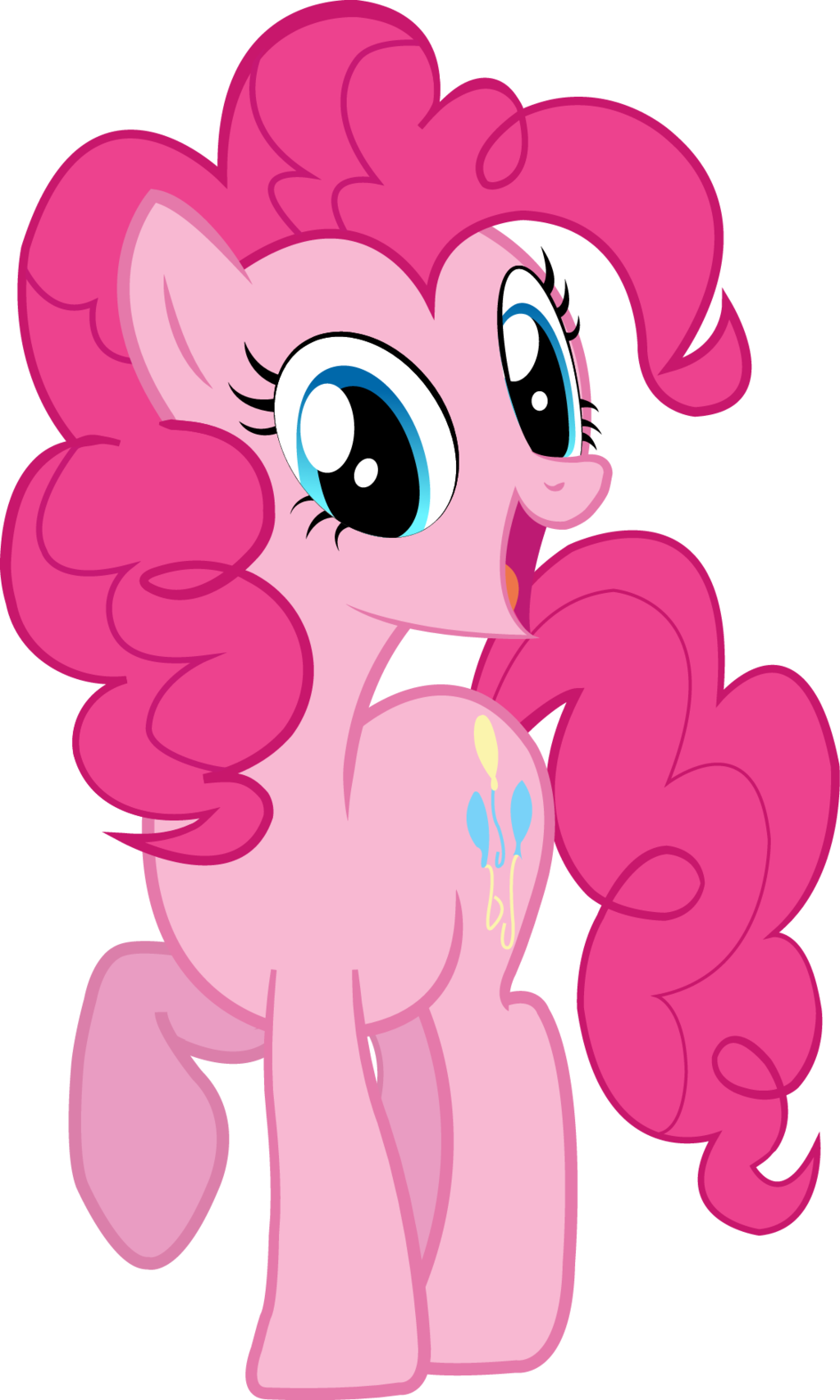 pinkie pie vector by snapshopvisuals on deviantart my little pony