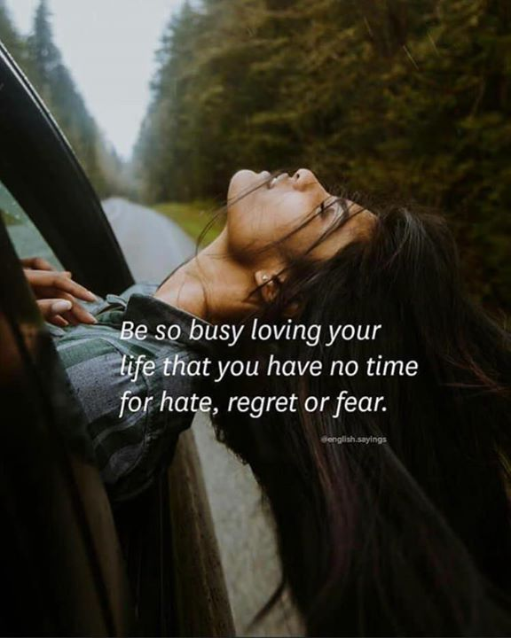 Inspirational Positive Quotes :Be so busy loving your life..