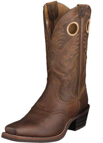 a26f1e7fb2805 Amazon.com: Ariat Men's Heritage Roughstock Boot: Shoes   Boots ...