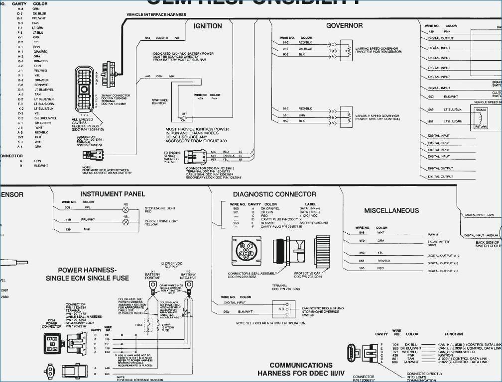 [DIAGRAM] Ddec V Wiring Diagram