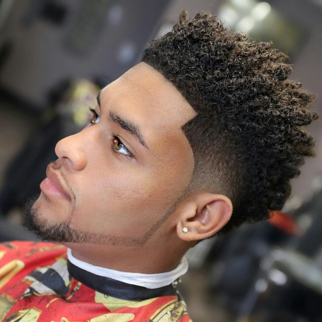 Black men curly haircuts pin by lesley bretado on sean  pinterest  beard cuts haircuts and