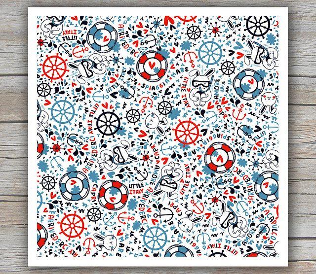 Summer Pattern by Mek Frinchaboy
