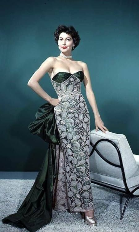 Movie star evening dresses