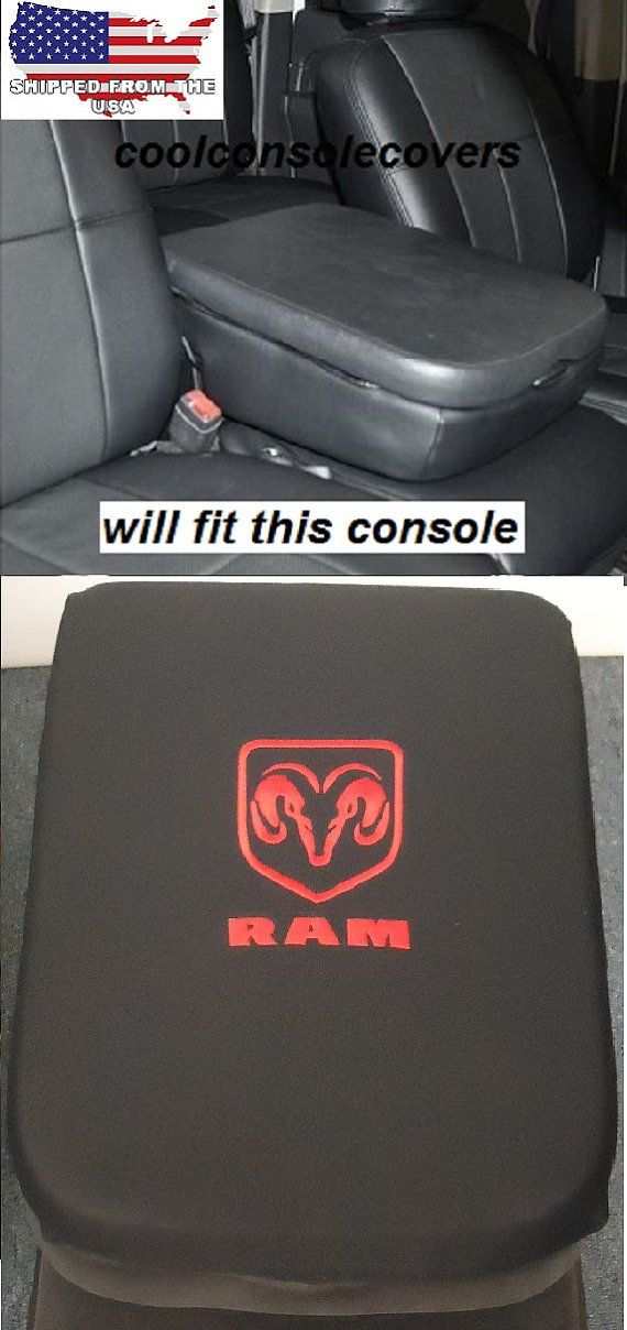 1998 2016 Dodge Ram 1500 Truck Black Center By Coolconsolecovers Dodge Ram 1500 Ram Trucks Accessories Dodge Ram Accessories