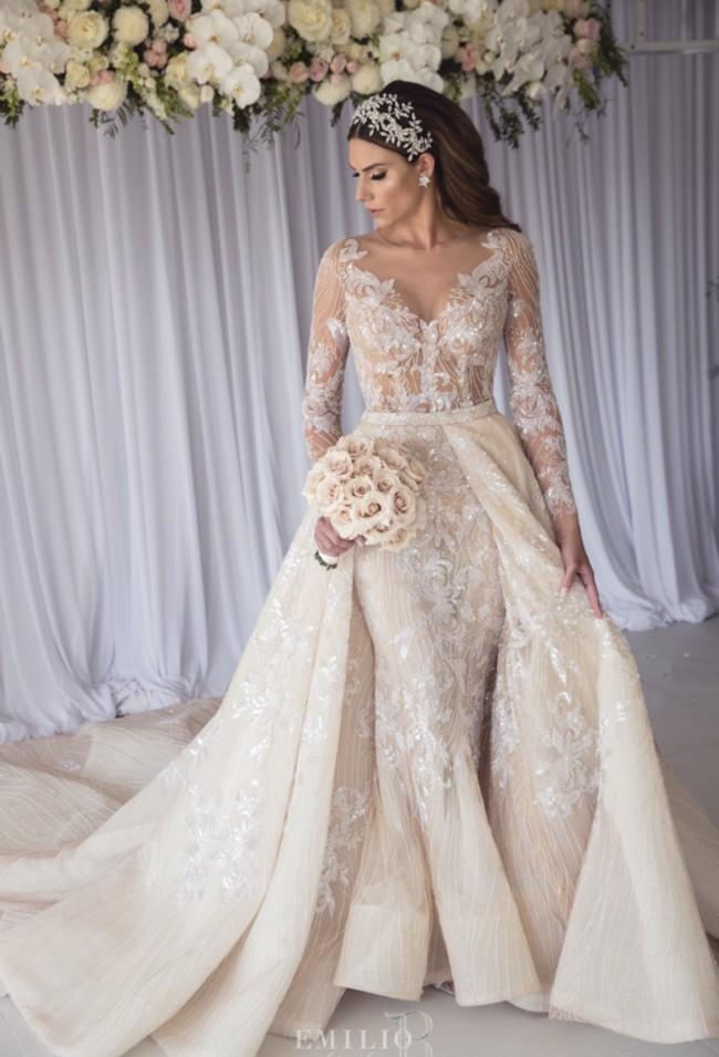 wedding bride evening gowns