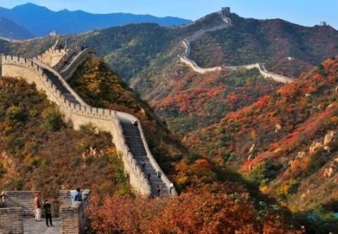 Great Wall, the famous attraction in China tour.