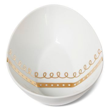 Figural Bowl -Egg Shape with Real Gold - Threshold™