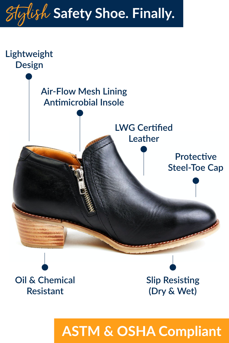 Stylish SteelToe Safety Shoes & Boots for Women from Xena