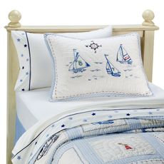 Whistle & Wink™ High Seas Quilt and Accessories - Bed Bath & Beyond