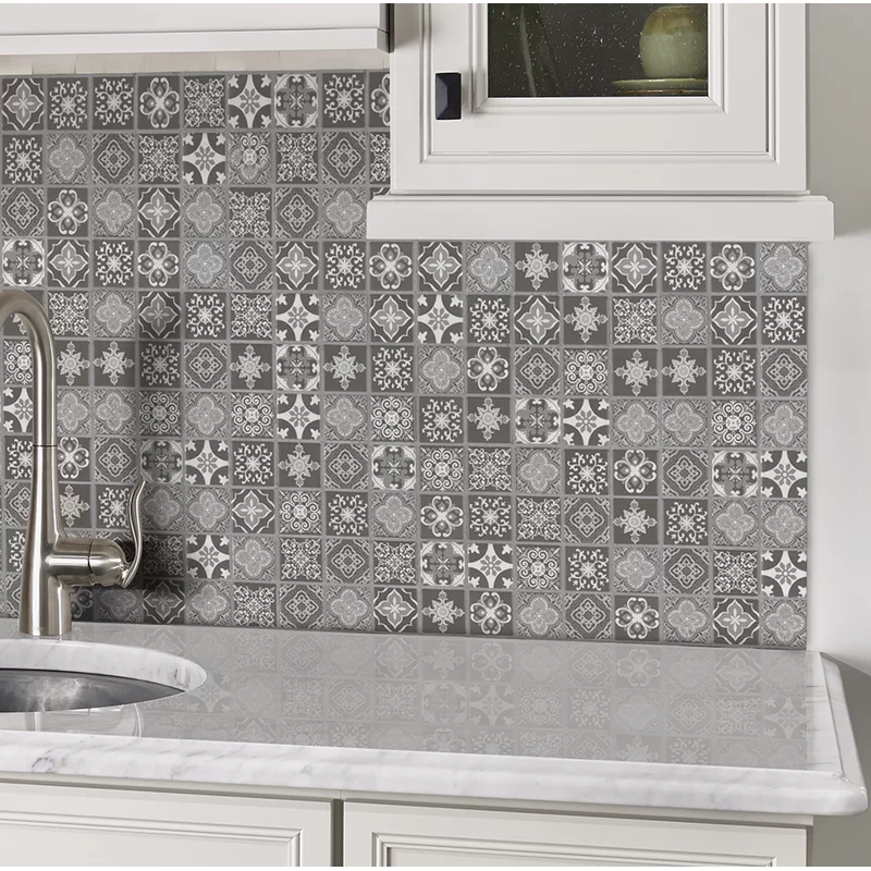 Anya Glazed Mesh Mounted 2 X 2 Ceramic Mosaic Tile In 2020 Ceramic Mosaic Tile Mosaic Tiles Mosaic Floor Tile