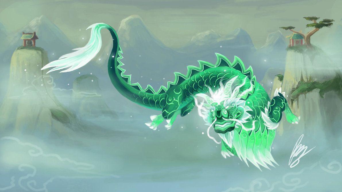 yu_lon_the_jade_serpent_by_seiunz-d8gaj51.jpg (1191×670) | World of  warcraft, Warcraft, Game artwork