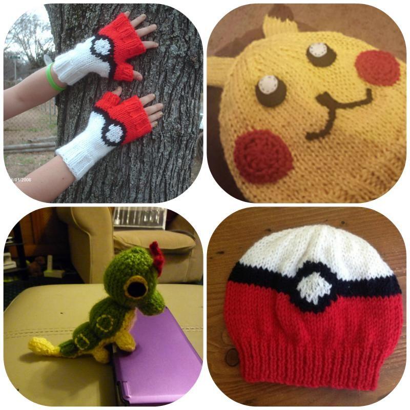 Knitted Pokemon patterns   for Elliot   Pinterest   Patterns, Free ...