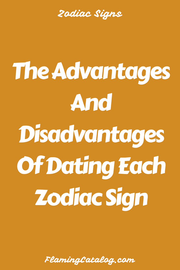 Dating disadvantages