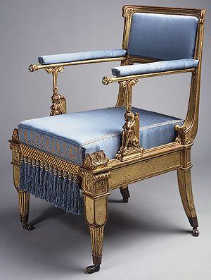 Karl Friedrich Schinkel Armchair German Berlin The Metropolitan Museum Of Art Empire Furniture Furniture Antique Furniture For Sale