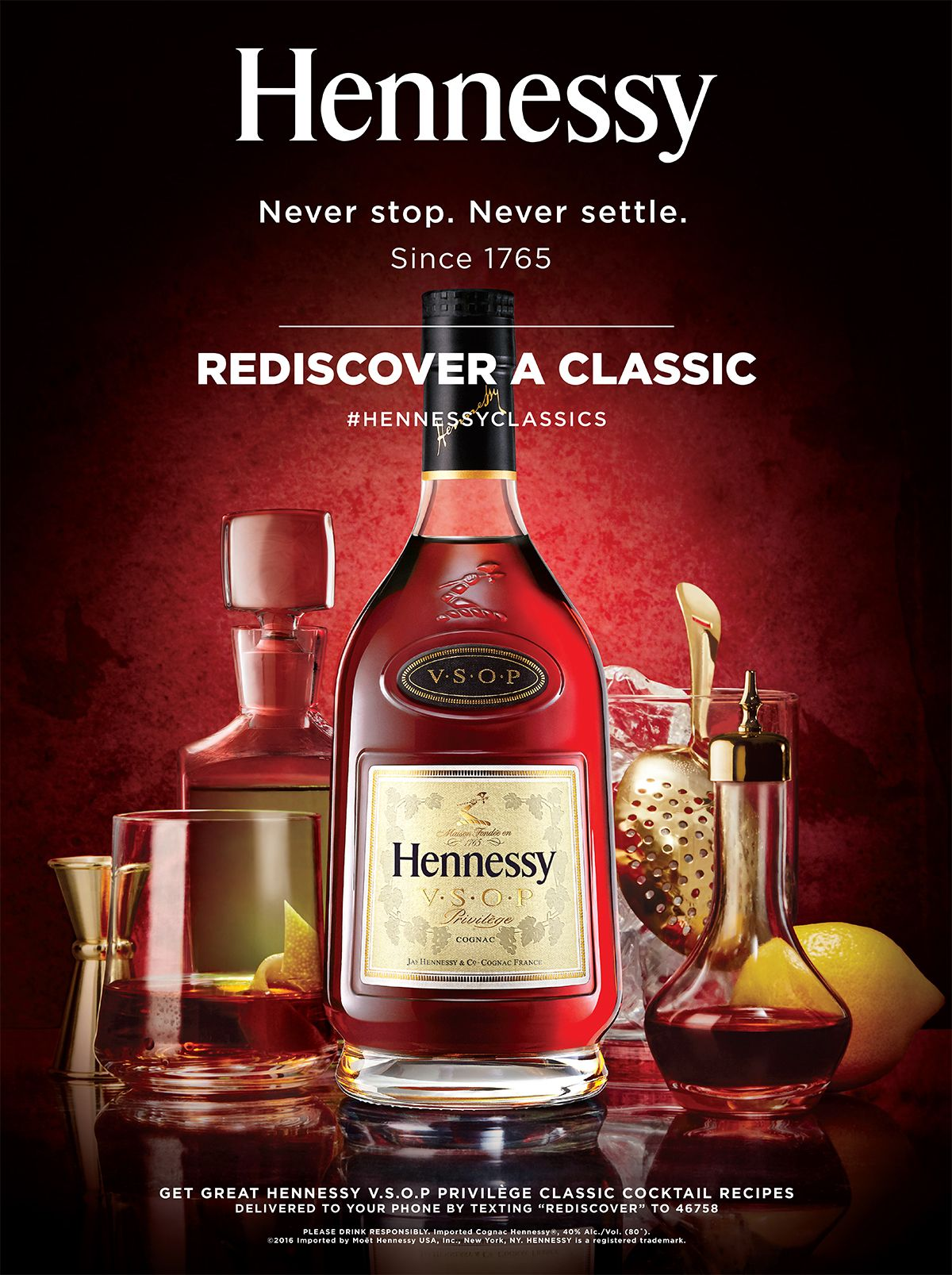 how to drink hennessy vs