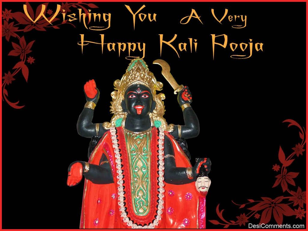 happy kali puja photo