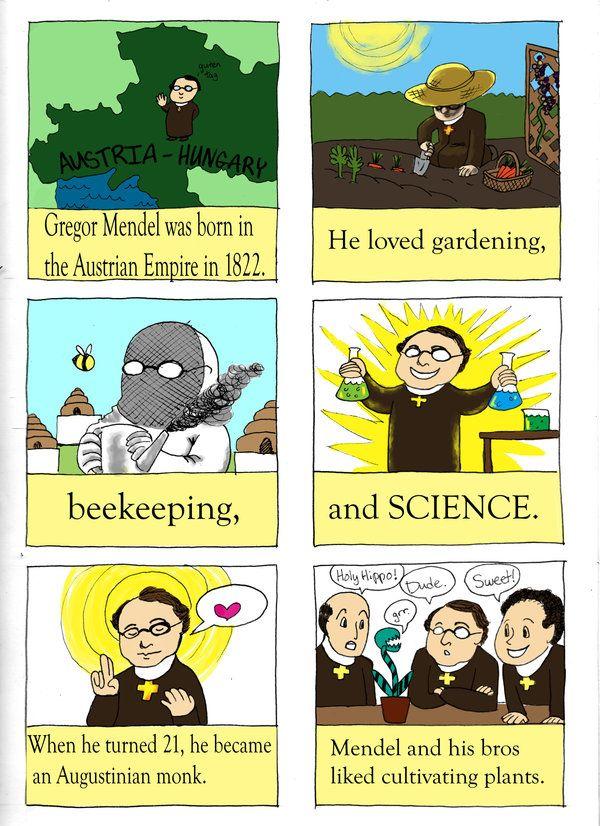 Gregor Mendel Page 1 By Sithdragon42 On Deviantart Patterns Of Inheritance Gregor Mendel Study Biology Teaching Science
