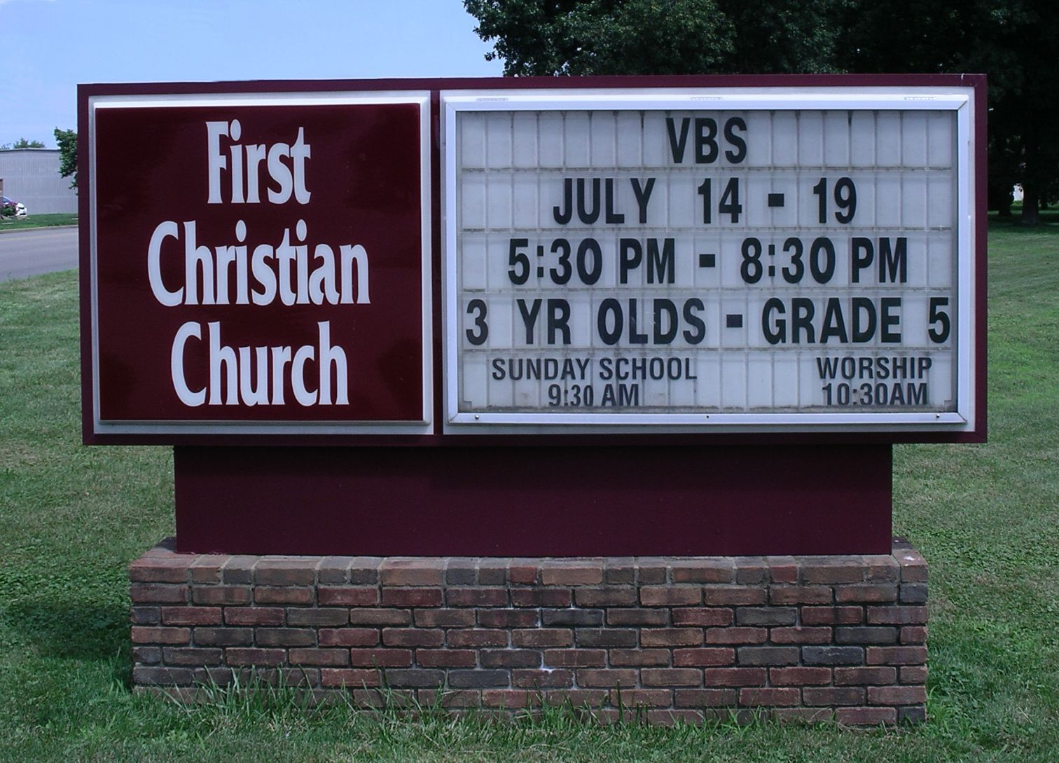changeable copy letter board church sign first With changeable letter church signs