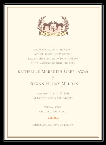Horse Wedding Invitations Pinterest Wedding Wedding