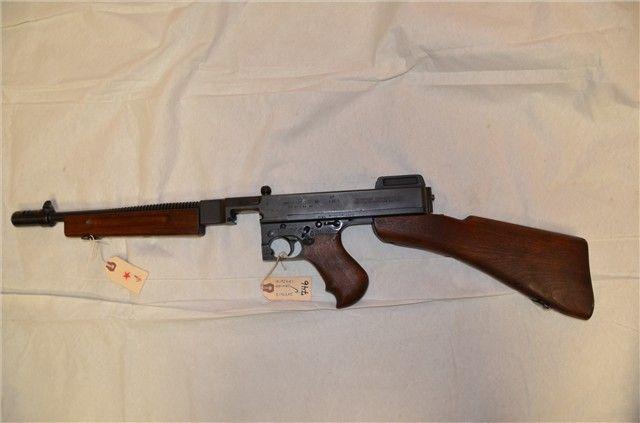 This Auto-Ordnance Thompson M1928A1 Submachine Gun is a pre 86 ...