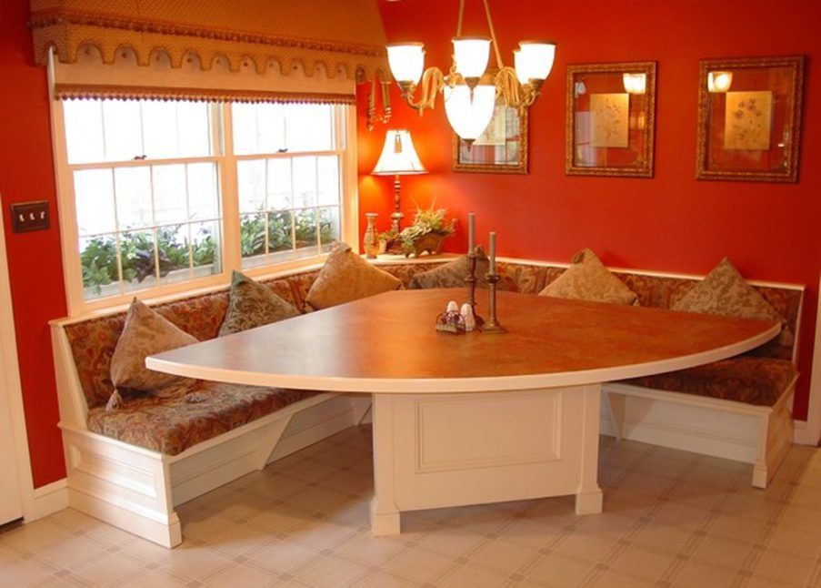 Corner Booth Dining Nooks And Booths Kitchen Bench With ...