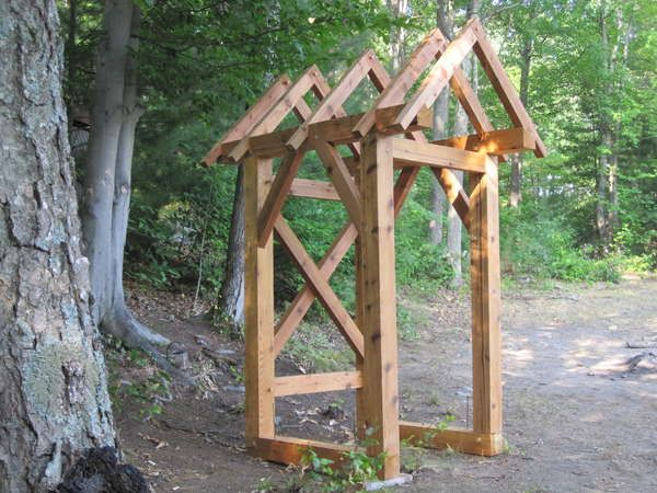 Timber Frame Outhouse Plans In 2019 Outhouse Bathroom
