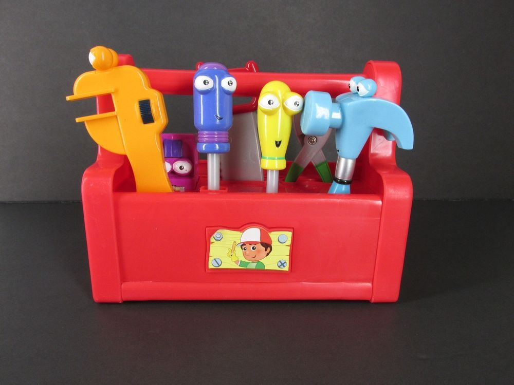 Handy Manny Singing Dancing Toolbox With All 7 Tools