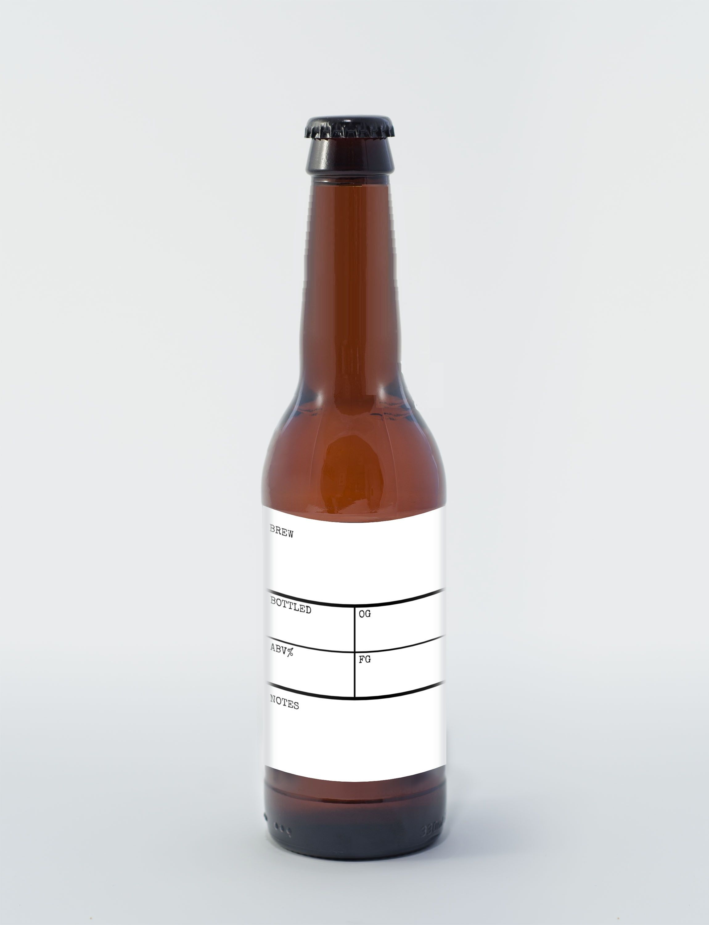 Write-in beer bottle label template, FREE | Free Label Printables ...