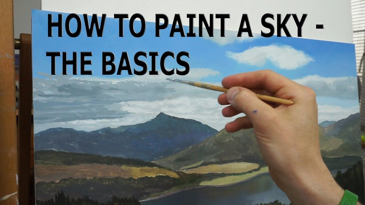 9 how to paint the sky for beginners oil painting