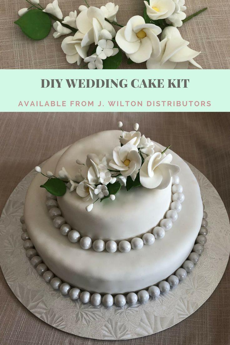 J Wilton Distributors Has An Idea For Your Diy Wedding Cake No