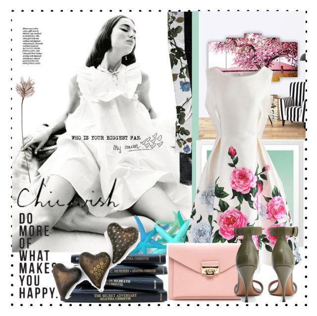 """""""Amazing dress in this set"""" by enwa on Polyvore featuring Chicwish, Givenchy and Eightmood"""