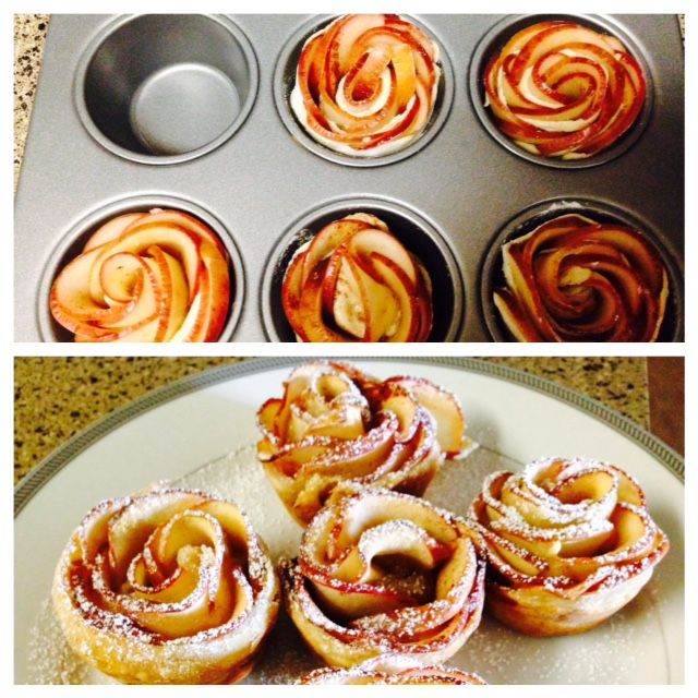 Mes Apple roses...