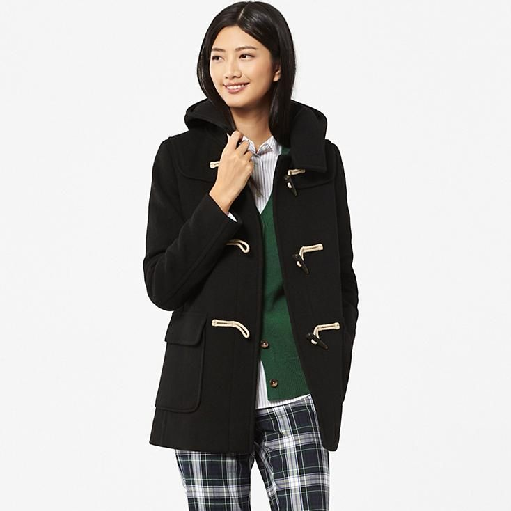 WOMEN WOOL BLENDED DUFFLE COAT | Fall/Winter 2015 | Pinterest