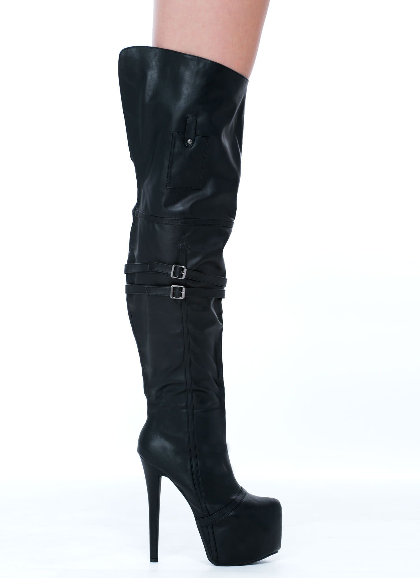 OTK Leather Boots