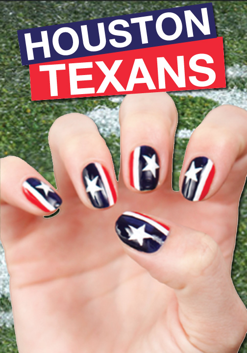 It\'s football time in Houston! Go Texans! | Nail Looks | Pinterest ...