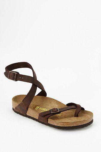 787f0fac90e Birkenstock Yara Ankle-Wrap Sandal - Urban Outfitters
