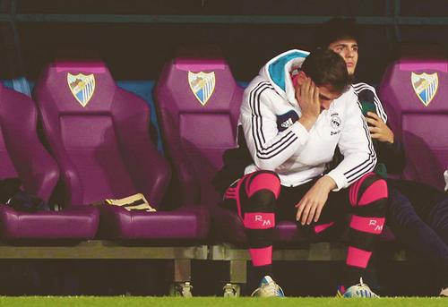 Esta foto resume relativamente bien el partido de hoy vs. Málaga