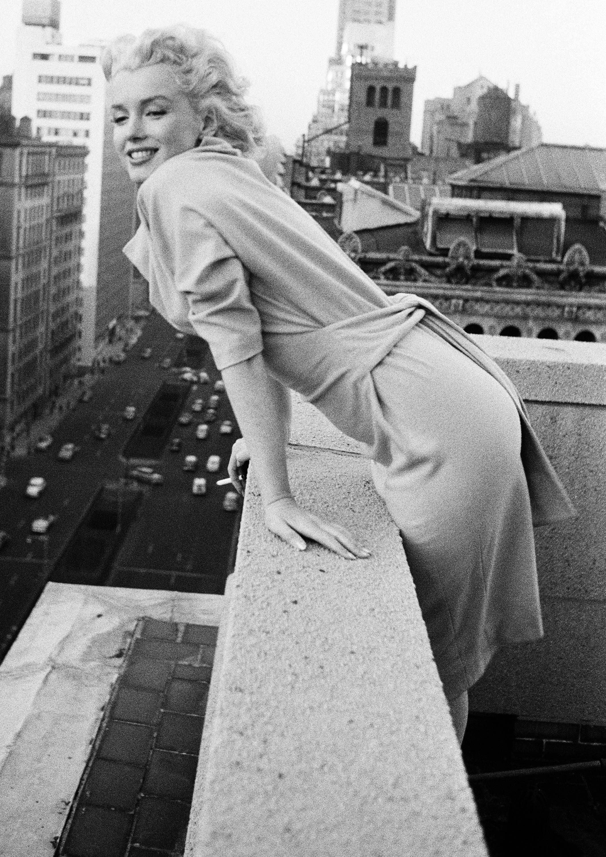 Marilyn Monroe Monochrome Photographic Print 82 (A4 Size - 210mm x ...