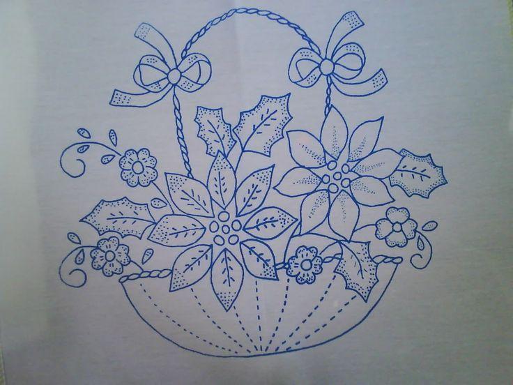 Resultado De Imagen Para Manteles Bordados A Mano Patrones Dibujos - Manteles-para-bordar