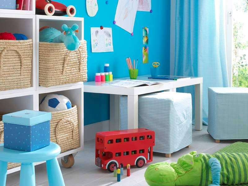 Kinderzimmer für Jungs gute Idee, die mit Stoff bezogenen - babyzimmer fr jungs