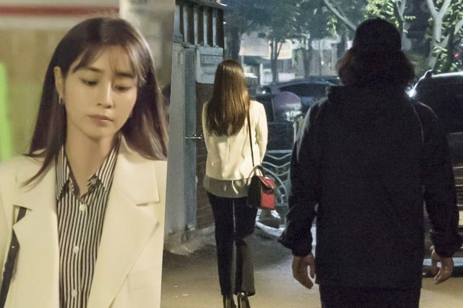 "Lee Min Jung Finds Herself In Danger In ""Once Again"""