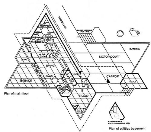Frank Lloyd Wright Kraus Residence Floor Plan Frank Lloyd Wright Lloyd Wright How To Plan