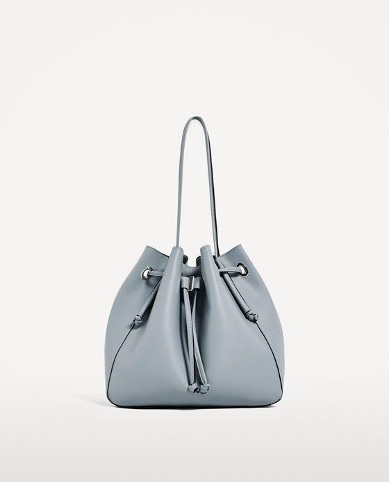 1245e715b65e Image 2 of CONVERTIBLE BUCKET BAG from Zara