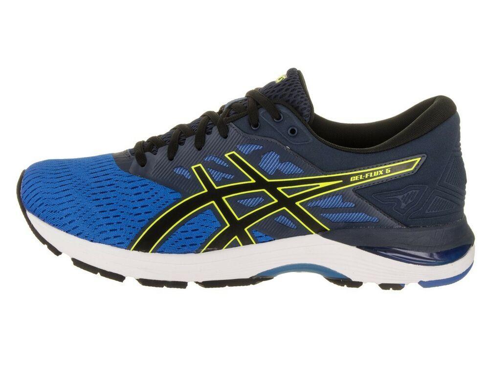 Asics Gel Flux 5 Running Mens D Medium Width Blue T811n 4390 New Asics Running Asics Sneaker Blue Sneakers