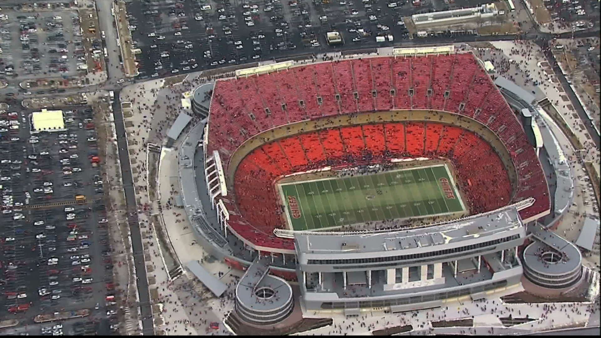 Kansas City Chiefs Stadium NFL Wallpaper HD Chiefs