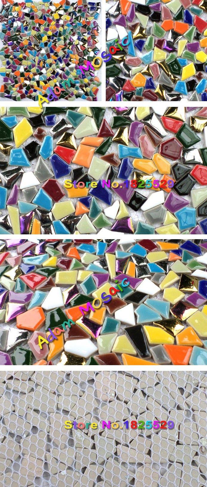 Mosaik Fliesen Farben Backsplash Schillernden Glasmosaik Fliesen Kunst  Multi Farbige Wand Fliesen Küche Kunst Materialien Deco