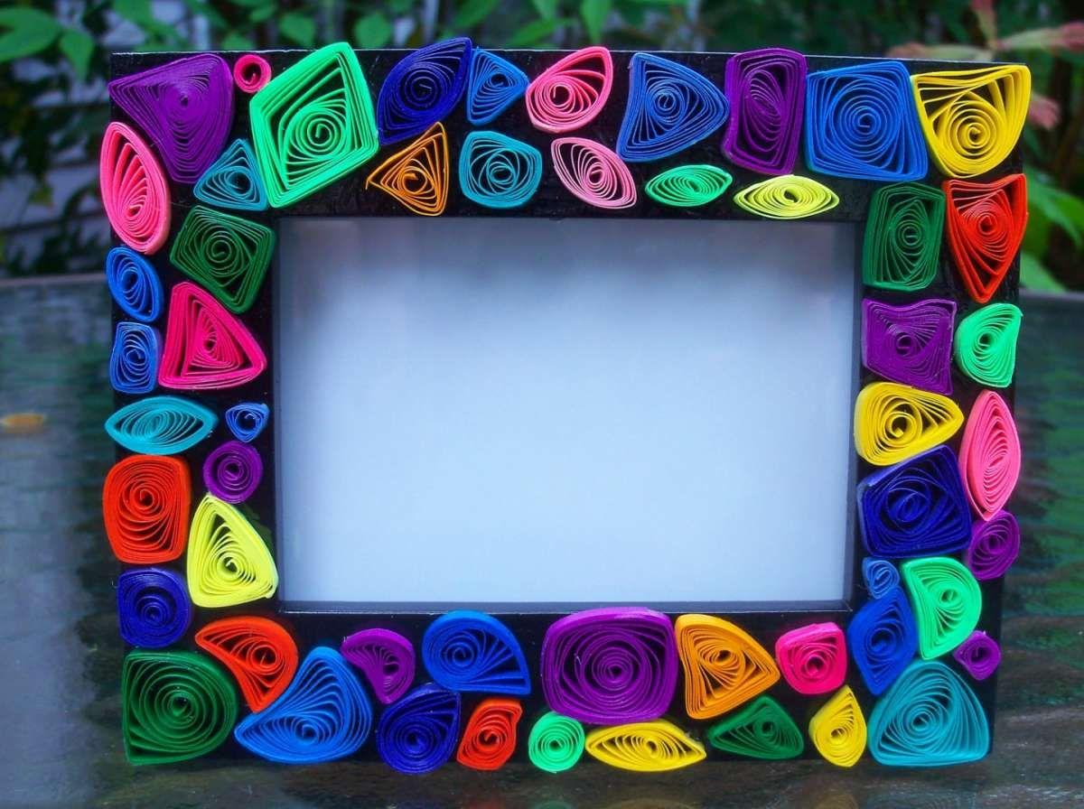 Cornici Colorate Per Foto cornici per bambini fai da te | cornici artigianali, cornici