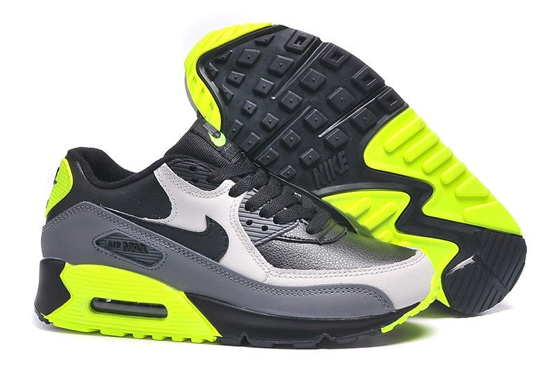 2011 Air Max 90 Hyperfuse Neon Yellow Shoes 20234 [air001597